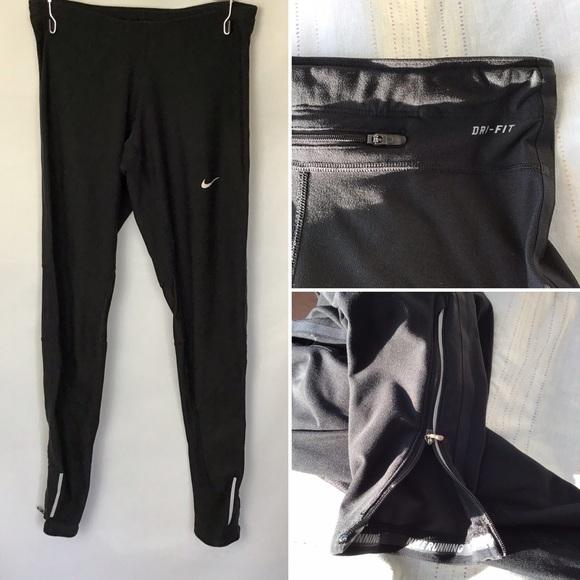 Nike Drifit Drawstring Leggings